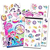 My Little Pony Stickers and Tattoos ~ Twilight Sparkle, Rainbow Dash, Fluttershy, Pinkie Pie, Applejack, Rarity, Spike the Dragon, Princess Celestia, and Princess Luna! by My Little Pony