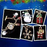 TIME100 Damen Armbanduhr Armkettuhr Schneeflocke Weihnachtsgeschenk Analog Quarz Cyber Monday Woche