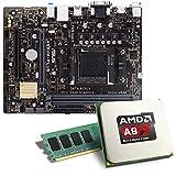 AMD A8-6600K / ASUS A68HM-PLUS Mainboard Bundle / 8192 MB | CSL PC Aufrüstkit | AMD A8-6600K APU 4x 3900 MHz, 8192MB DDR3, Radeon HD 8570D, GigLAN, 7.1 Sound | Aufrüstset | PC Tuning Kit