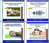 4er CD-Pack: Progressive Muskelentspannung nach Jacobson - Muskelrelaxation, Stressabbau, PMR - Entspannung für Kinder, Jugendliche und Erwachsene -