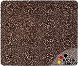 matches21 Fußmatte Teppich Läufer Baumwolle Uni farbig/einfarbig braun 50x60 cm Rutschfest maschinenwaschbar