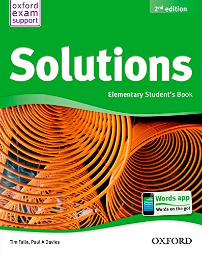 Pack Solutions Elementary. Student's Book - 2nd Edition (Solutions Second Edition) - 9788467381979