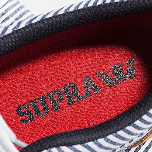 Supra Cuba Uomo Tessile Scarpe Skate Blu