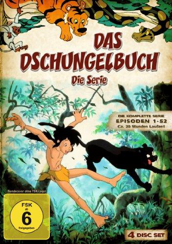 Das Dschungelbuch - Die komplette Serie (4 DVDs)