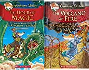 Geronimo Stilton and the Kingdom of Fantasy #8 - The Hour of Magic + The Volcano of Fire: 5 Geronimo Stilton (