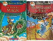Geronimo Stilton and the Kingdom of Fantasy #8 - The Hour of Magic + The Volcano of Fire: 5 Geronimo Stilton (