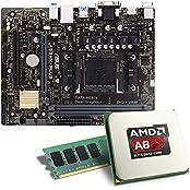 AMD A8-7600 / ASUS A68HM-Plus Mainboard Bundle / 8192 MB | CSL PC Aufrüstkit | AMD A8-7600 APU 4x 3100 MHz, 8192 MB, Radeon R7, GigLAN, 7.1 Sound, USB 3.1 | Aufrüstset | PC Tuning Kit