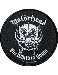 Motörhead parche The wörld IS Yours Patch tejida 8,5cm