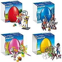 Playmobil Set Huevos de pascua 9207, 9208, 9209, 9210 - nuevo 2017