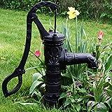 Schwengelpumpe Antik Vintage Gartenpumpe Handschwengelpumpe Handpumpe Nostalgie für den Garten mit ca. 7-8 meter Saughöhe Baumarktplus