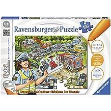 """Ravensburger tiptoi Puzzle """"Im Einsatz"""" - 00554 / Entdecken & Erleben: Abwechslungsreiches Motorikspiel für Kinder von 5-8 Jahre, 100 Teile"""