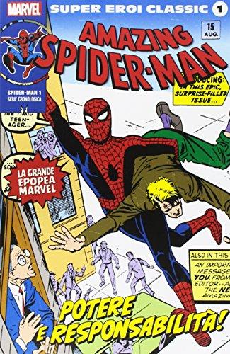 Super Eroi Classic 1 Variant - Spider-Man 1: potere e responsabilità!