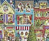 Caspari Advent Calendar Card, Christmas Pets