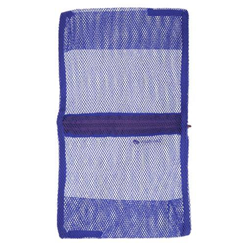 Pochette Nylon Portable Sac de Voyage Organisateur Cosmétique Bleu