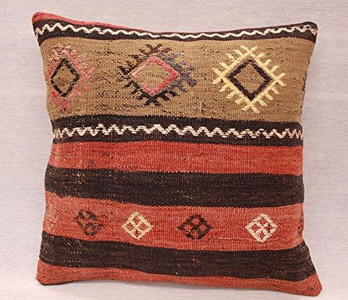 ETFA Kelim Kissen Kissenbezug Kissenhülle cushion cover pillow 40x40 cm 3521