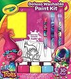 CRAYOLA- Trolls-Deluxe Malset mit auswaschbaren Farben Troll, Kit Creativo, Pittura e Fai da Te, 54-0156