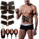 DALEMY Tónico muscular, Abs Trainer Estimulador muscular EMS, Cinturón de tonificación abdominal, Máquina de entrenamiento corporal Cintura Trainer, Gimnasio Workout y Aparato de ejercicios casero para hombres Mujeres