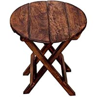 Fara Creations Beautiful Wooden Folding Side Table