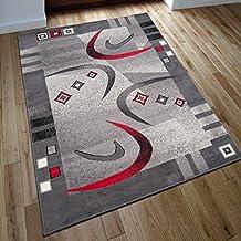 Designer Teppich Modern RETRO Meliert In Grau   ÖKO TEX (300 X 400 ...