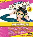 Coffret 5 DVD + Micro Mes Soirées Karaoké Vol 5 - Années 80 Vol 3 + Vol 4 + Vol 5 + Vol 6 + Vol 7 [Import italien]