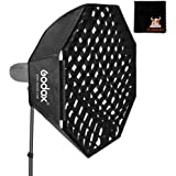 GODOX Softbox Grid 120cm Softbox Studio Flash Softbox Bowens Mount con Bolsa de Transporte para Producto Retrato Fotografía E