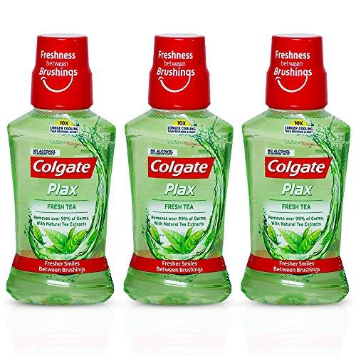 Colgate Plax Fresh Tea Mouthwash - 250 Ml (Buy 2 Get 1 Free)