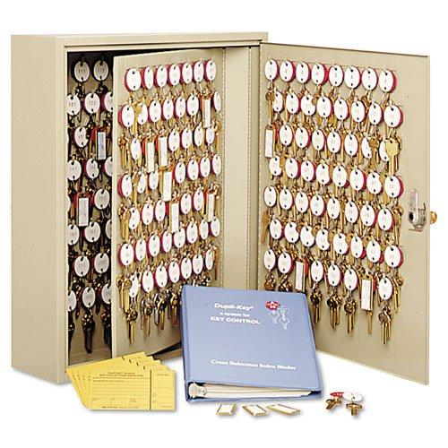 Steelmaster dupli-key two-tag Schlüsselkasten für 60Schlüssel, 35,6x 44,5x 8cm, sand (201806003) (Cabinet Hardware-industrie)