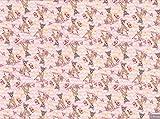 Jersey Stoff–Bambi–Schneidern & Kinder Kleidung