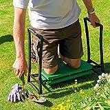 Parkland Kniebank faltbar, tragbar, Schaumstoff-Auflage, für Gartenarbeiten, gepolstert