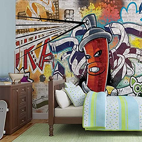 Papier Peint Photo Mural 1395VEXXL - Collection Graffiti - XXL