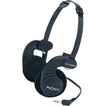 Koss SP Pro On-Ear Stereo Kopfhörer - Schwarz