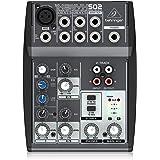 Behringer XENYX 502 Mesa mezclas Xenyx Premium, 5 puertos