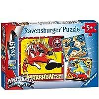 Ravensburger 8023 Power Rangers Ninja Steel Jigsaw Puzzles - 3 x 49 Pieces