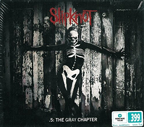 SLIPKNOT - 5 - THE GRAY CHAPTER : WITH 2 BONUS CUTS