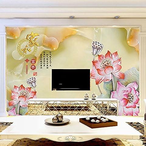 GS~LY Camera da letto 3D senza cuciture Cina tessuto non tessuto sfondi prezzi al metro quadrato , picture color