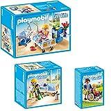 PLAYMOBIL® City Life Die freundliche Kinderklinik 3-tlg. Set 6660 6661