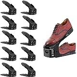 Toruiwa. 10pcs Range Chaussures MagiquesGain de Place/Support de Chaussures Réglables Rangement de Chaussues
