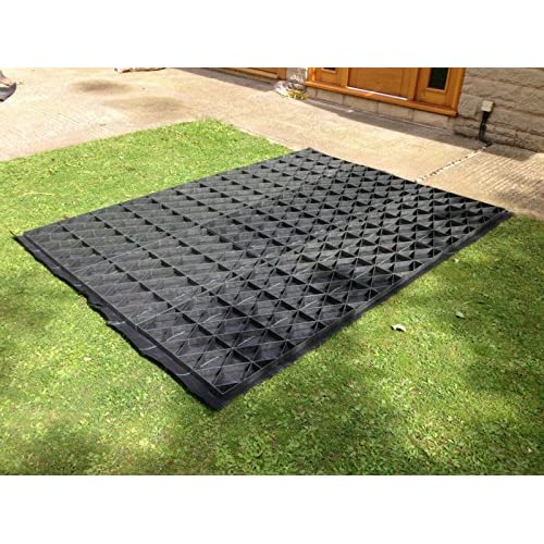 6×4 GARDEN SHED BASE GRID = FULL ECO KIT 2.1m x 1.2m + HEAVY DUTY MEMBRANE PLASTIC ECO PAVING BASES & DRIVEWAY GRIDS