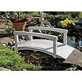 Design Toscano Jensen en bois Arche pont de jardin