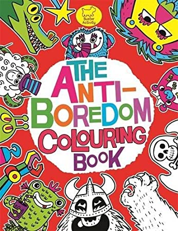 the anti boredom colouring book buster activity - Colouring Books