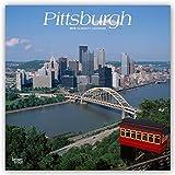 Pittsburgh 2019 - 18-Monatskalender mit freier TravelDays-App: Original BrownTrout-Kalender