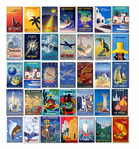 vintage-air-france-airlines-luggage-labels-suitcase-travel-posters-retro-pack-of-35-pvc-stickers