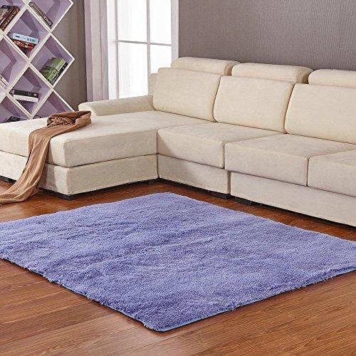 Qwer Soggiorno divano letto tabelle semplice tappetino antiscivolo ,1 lavabile x 1.2M, neve-ching di tappeti