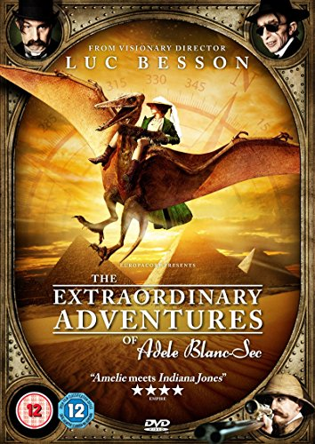 The Extraordinary Adventures of Adele Blanc-Sec [DVD]