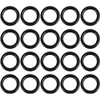 85 mm x 5,3 mm Colore: Nero 5 Pezzi rondelle di Guarnizione ad Anello in Gomma nitrilica Autohaux per Auto