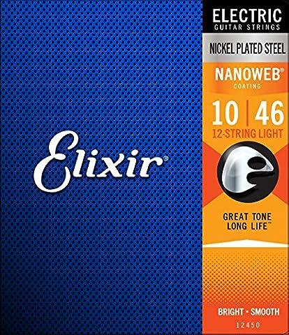 Corde Guitare Elixir - Elixir Jeu de 12 cordes pour guitare