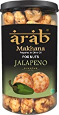 COCO Shriram's Arab Roasted Makhana - Jalapeno Flavour (Fox Nuts - Healthy Snacks for Munching)