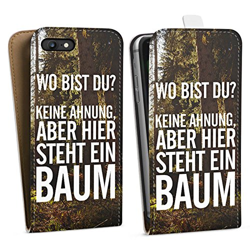 Apple iPhone X Silikon Hülle Case Schutzhülle Sprüche Humor Spruch Downflip Tasche weiß