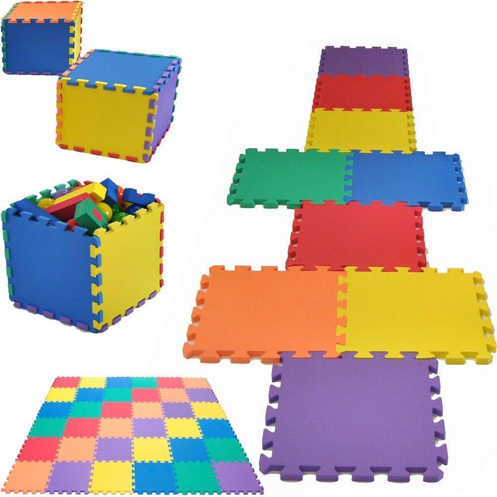 20 piece childrens floor eva foam tiles play mat set each tile 20 piece childrens floor eva foam tiles play mat set each tile 30 x 30cm by funkybuys amazon toys games doublecrazyfo Gallery