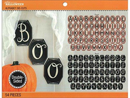 Unbekannt EK Success Jolee 's Boutique Halloween Jumbo Alphabet